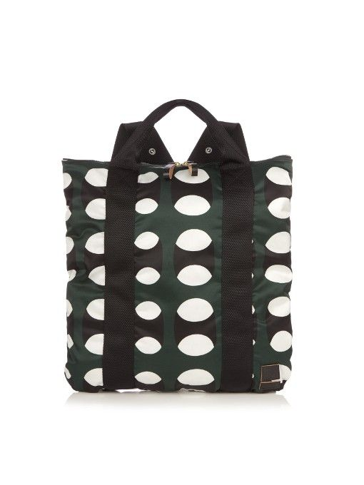 e6e4cbf60f MARNI X Porter Pop-Print Backpack.  marni  bags  leather  nylon  backpacks