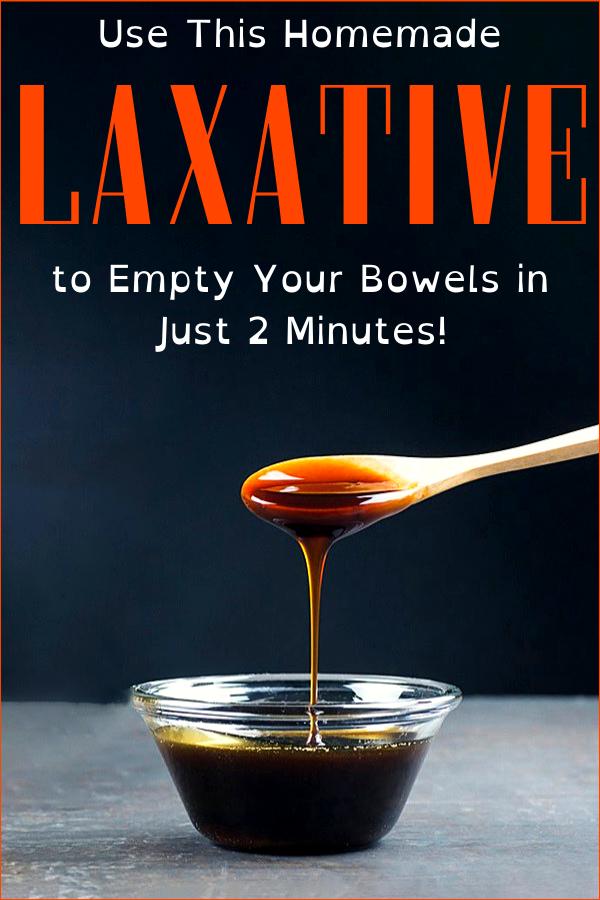 Photo of Verwenden Sie dieses hausgemachte LAXATIVE, um Ihren Darm in nur 2 Minuten zu entleeren! |