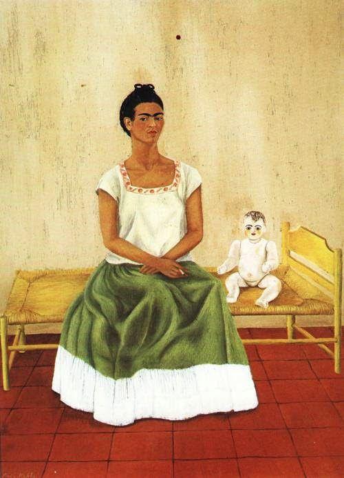 Me and My Doll Artiste : Frida Kahlo Période : Art naïf Création : 1937 Genre : Autoportrait