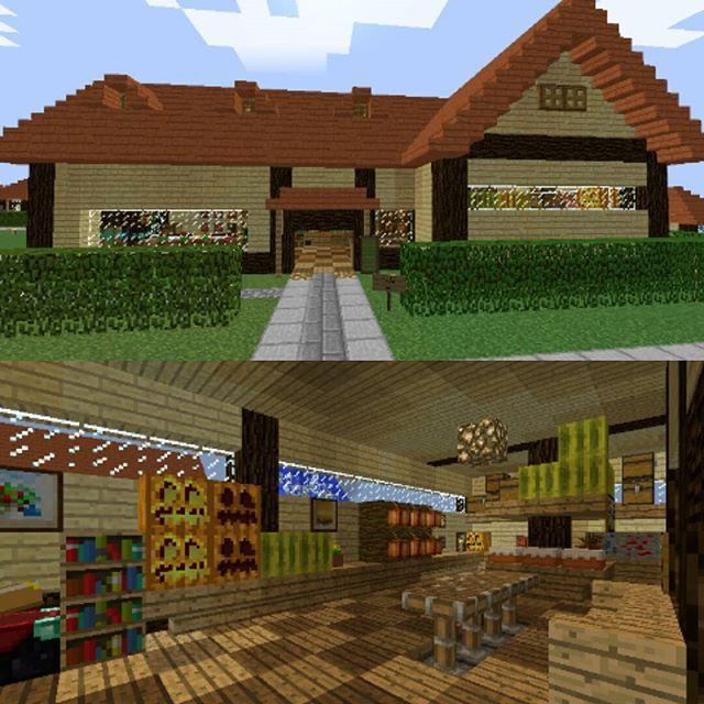 村の土産物屋なのですが 中のゴチャゴチャ感を出すにはどうすればいい