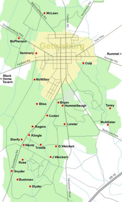 Gettysburg College Map : gettysburg, college, Weikert