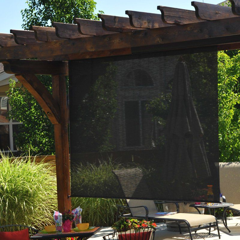 Exterior: Keystone Fabrics Diamond Plus 6-ft. Outdoor Sun Shade