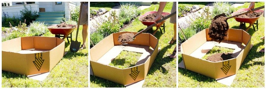 1000 images about cardboard gardening on Pinterest Gardens