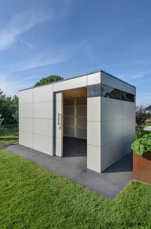 Gartenhaus nach Maß so sieht modernes Design aus