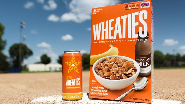 Wheaties Beer Is Unveiled It's A Hefeweizen (Duh