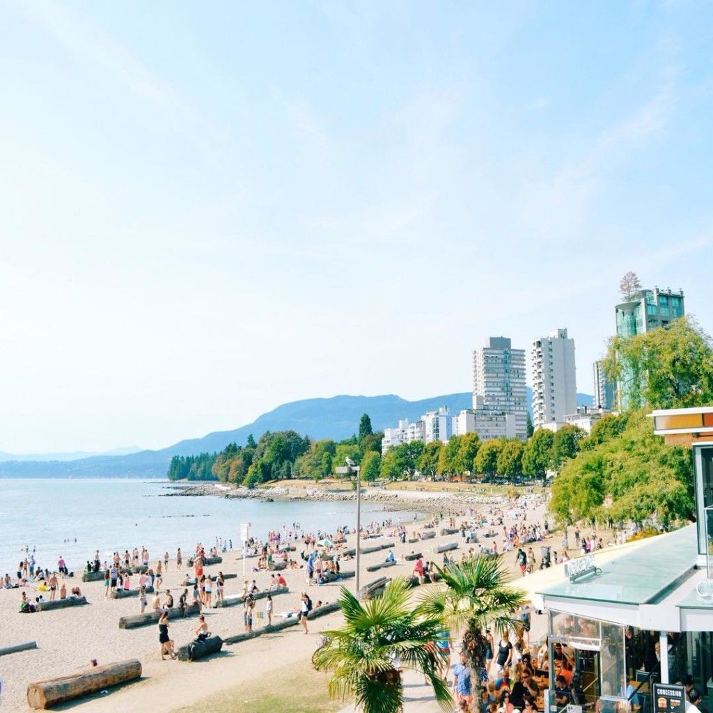 Vancouver Bc Beaches: 10 Great Urban Beaches In Vancouver: Http://explorebc.co