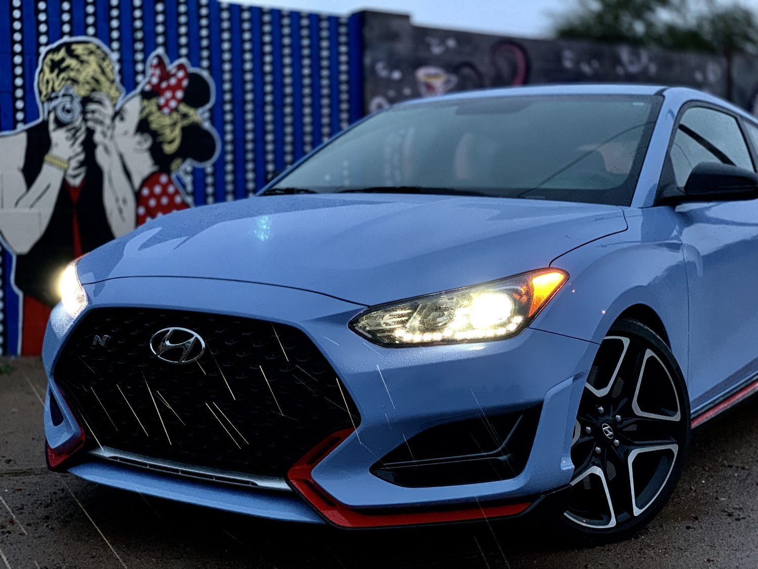 The 2019 Hyundai Veloster N is a fresh faced hot hatch