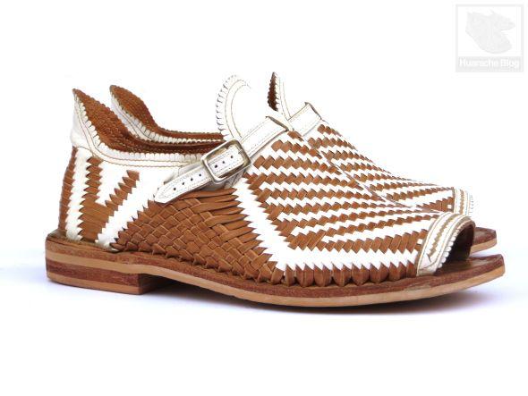 Huaraches Cisneros Arana Side | Woven sandals, Huaraches