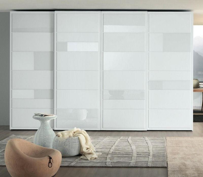 Weißer Kleiderschrank im Schlafzimmer 25 moderne Designs
