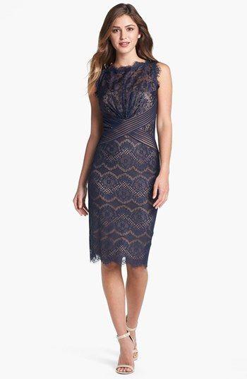 f851fe571e5 Tadashi Shoji Lace Sheath Dress available at  Nordstrom