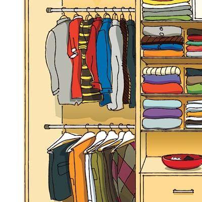 Closet Design Pros Share Their Secrets For Creating The Ultimate Storage Unit No Power Tools Required Illustratio Closet Space Closet Design Closet Designs