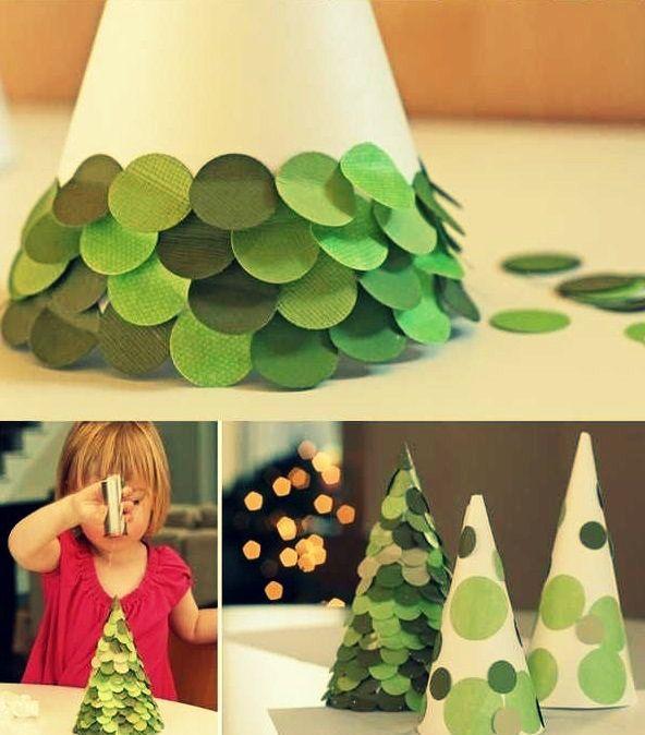 Ideas #Diy #Manualidades #Navidad #Arbol #Decoracion #VD