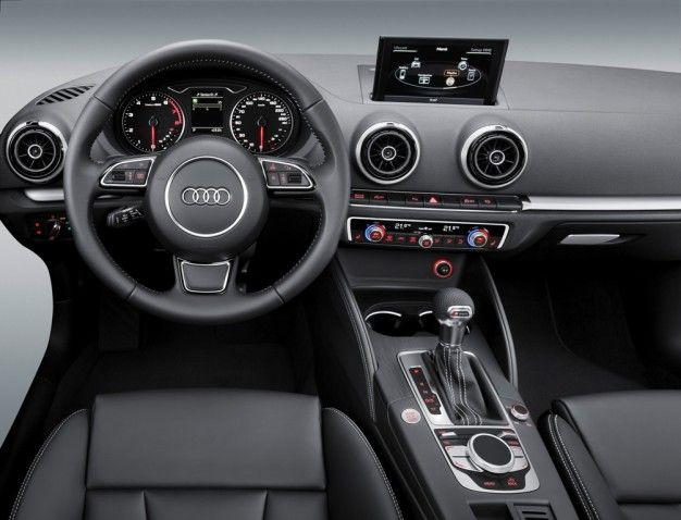 Audi Shows 2013 A3 Interior At Ces Audi A3 Audi Audi A3 Sedan