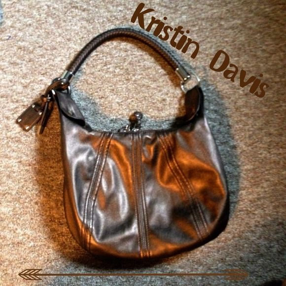 Kristin Davis Bag Never used. Has double zippers. Goes with EVERYTHING  Kristin Davis Bags