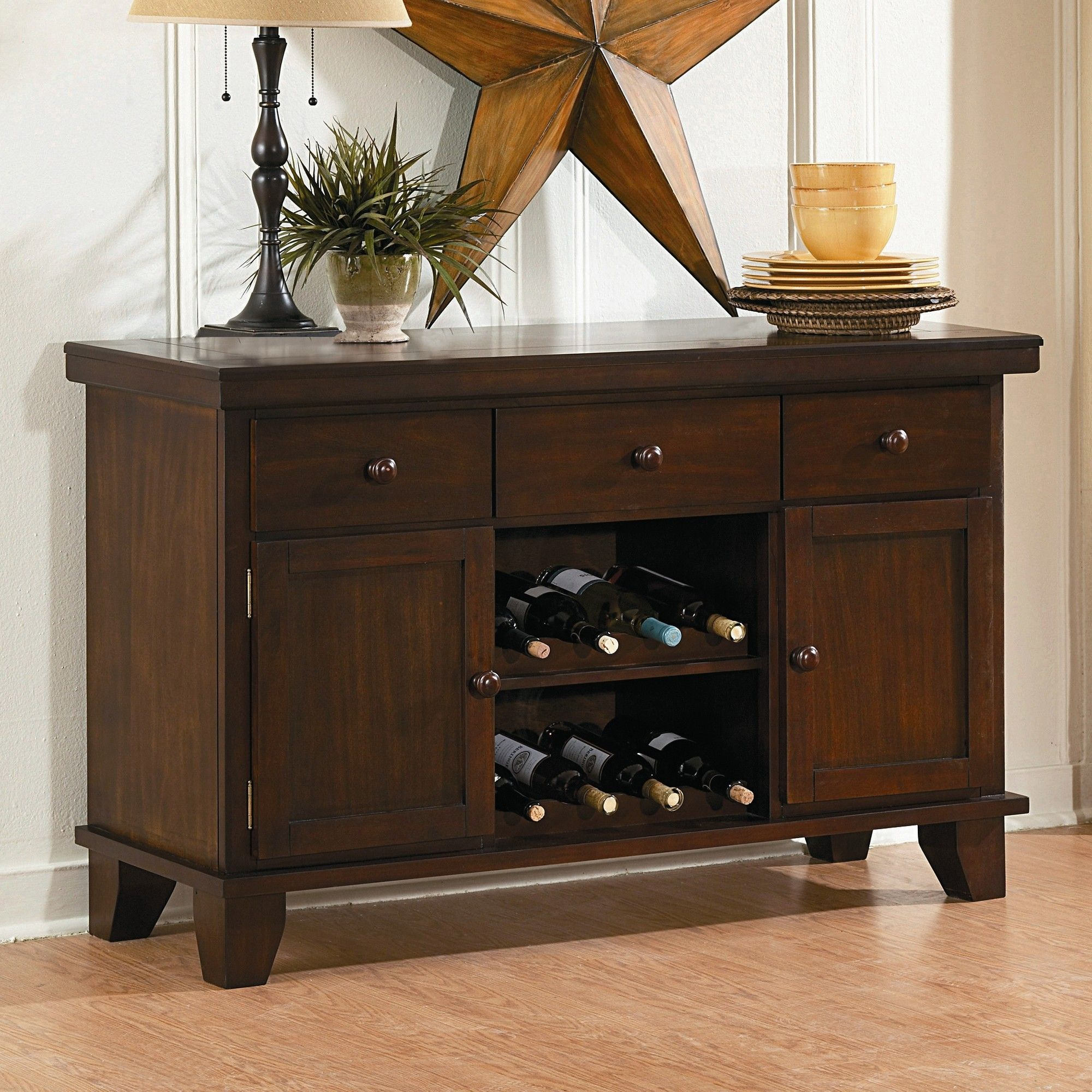 Woodbridge Home Designs Ameillia Server & Reviews   Wayfair ...