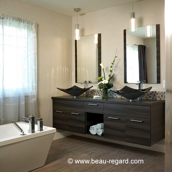 Meuble lavabo et armoires de salle de bain beauregard for Armoire meuble salle de bain