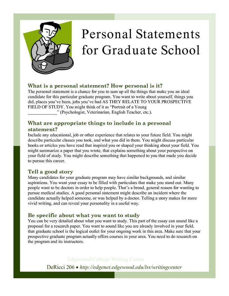 Superb Personal Statements For Graduate School | College: Readiness, Education U0026  Careers | Pinterest | School Admissions And School