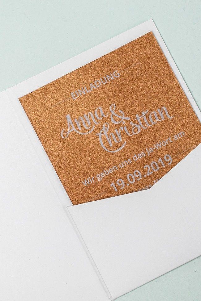 Einlegekarten Für Pocketfolds A6 Kupfer | Aufkleber Hochzeit Einladung, Aufkleber  Hochzeit, Diy Wedding,