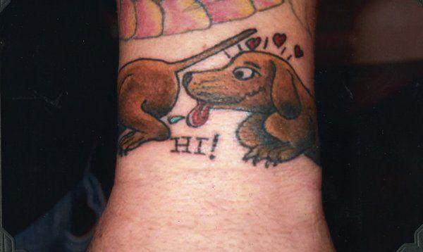 Wiener Dog By Sludgebrain On Deviantart Doxie Tattoo Dog Tattoos