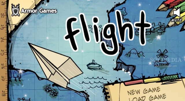 Throw a paper plane as far as you can Collect points and