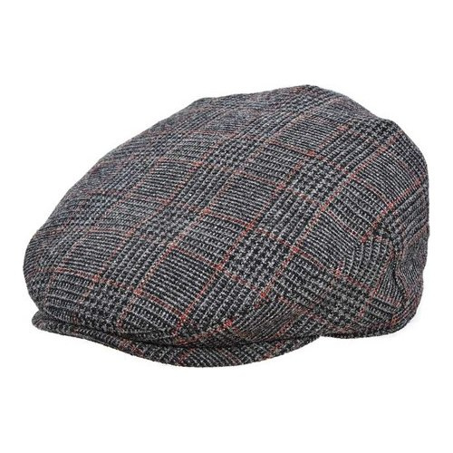 Men s Stetson STW245 Italian Flat Cap - Grey Hats 47e4b22b165