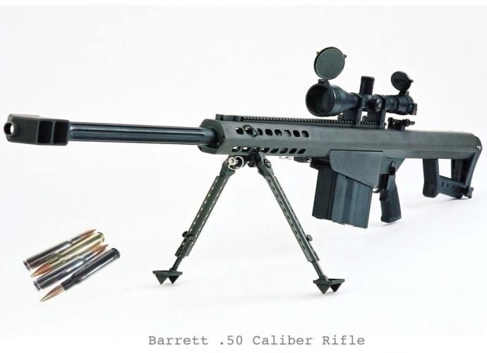 barrett 50 cal if it were possible for all bodily reactions