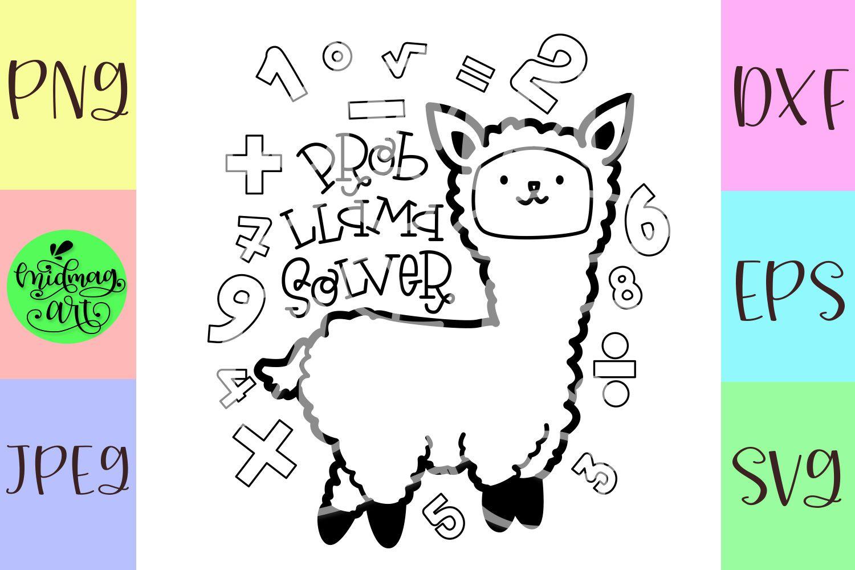 Prob Llama Solver Svg Math Teacher Svg Problem Solver