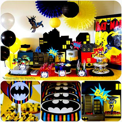 Batman bday party