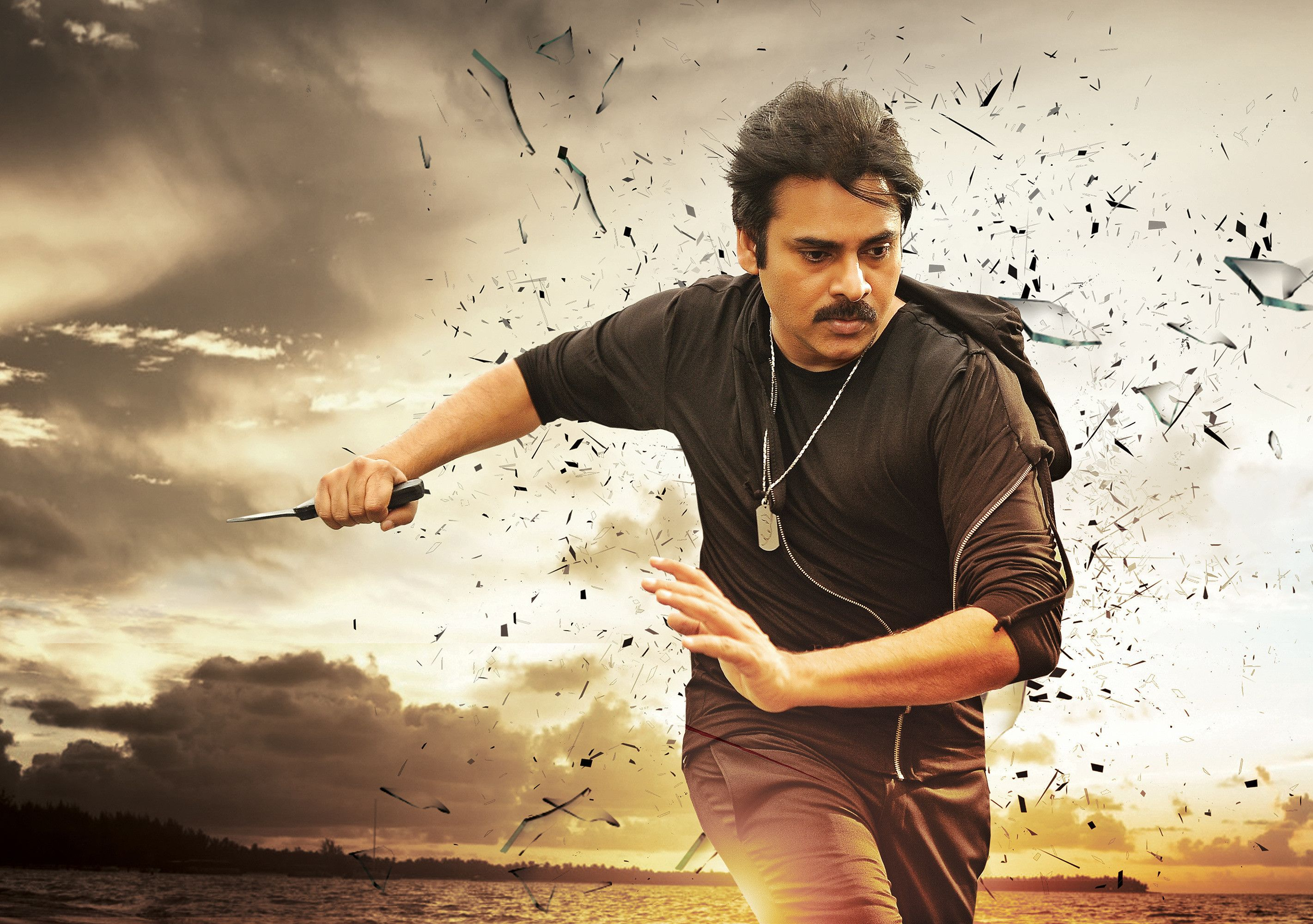 pawan kalyan new agnathavasi movie latest stylish ultra hd photos