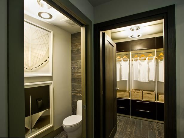 Bathroom And Walk In Closet Designs Endearing Urban Oasis 2012 Master Bathroom Pictures  Plank Contemporary Decorating Inspiration