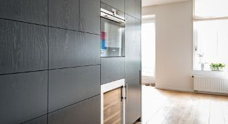 Keukenkast Op Maat : Keukenkast op maat door nieuw amsterdamsontwerp greeploze wandkast