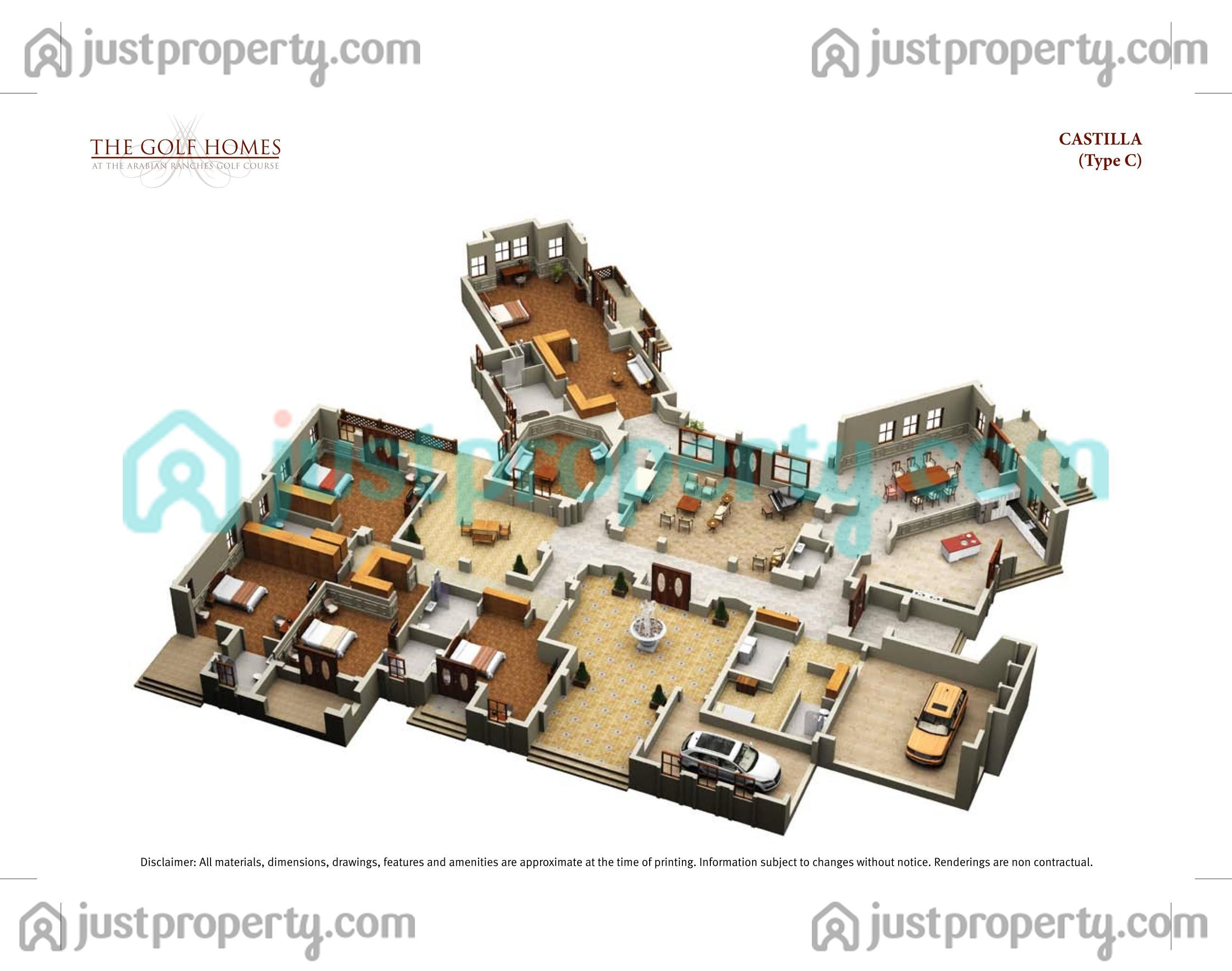 The Golf Homes Floor Plans Justproperty Com Property Finder Floor Plans House Floor Plans