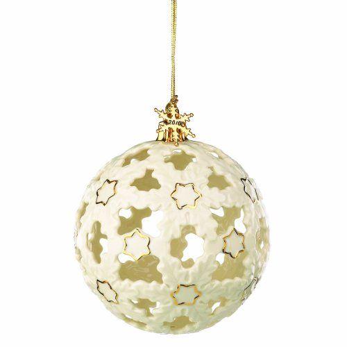 Lenox Christmas Ball Ornament