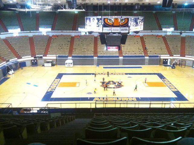 Beard Eaves Memorial Coliseum University Of Auburn