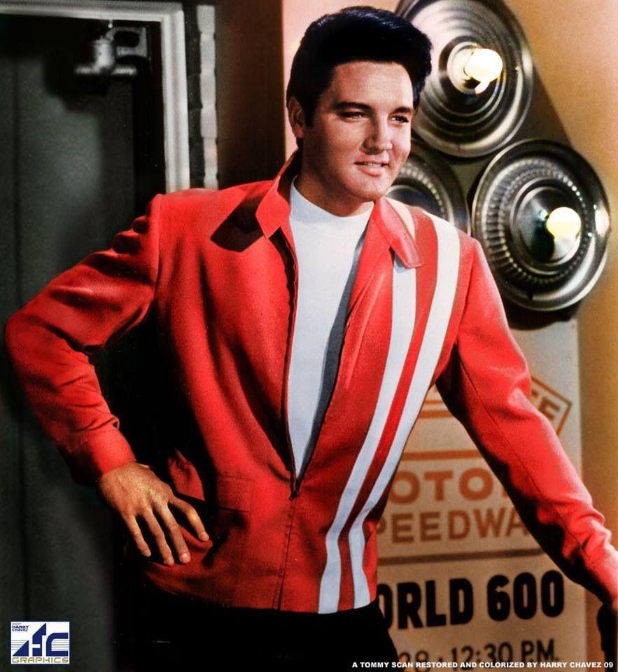 """Elvis as STEVE GRAYSON in """"SPEEDWAY!!!"""""""
