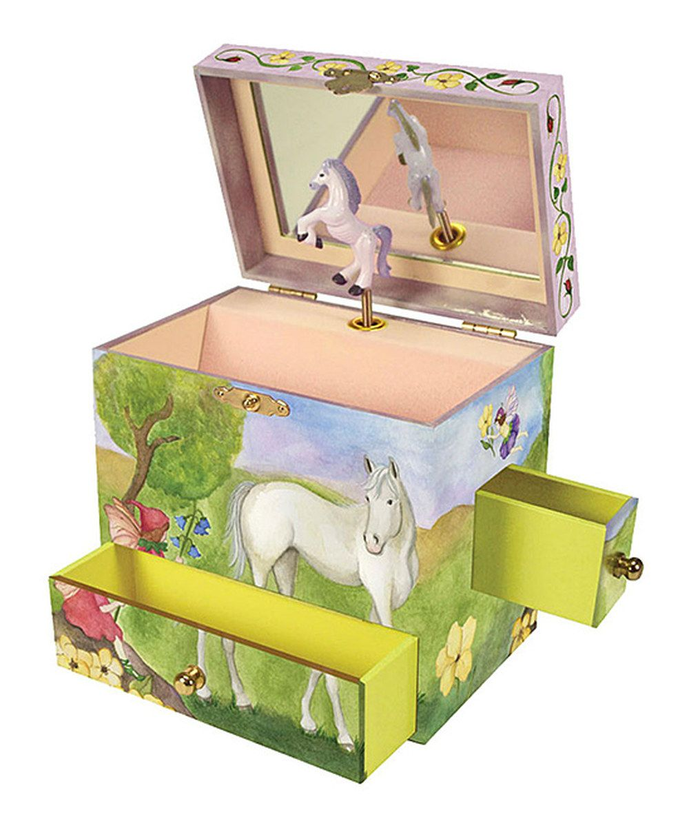 Horse Jewelry Box Look What I Found On #zulily Enchantmints Horse Fairy Musical