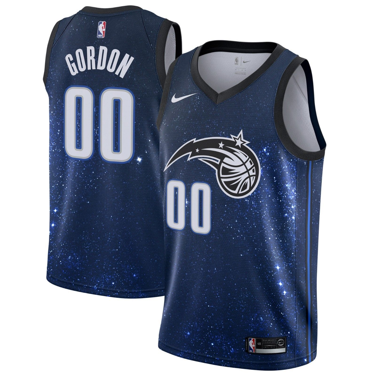 New 2017 Nike NBA Orlando Magic Aaron Gordon  00 City Edition Swingman  Jersey (eBay Link) f1254f78b