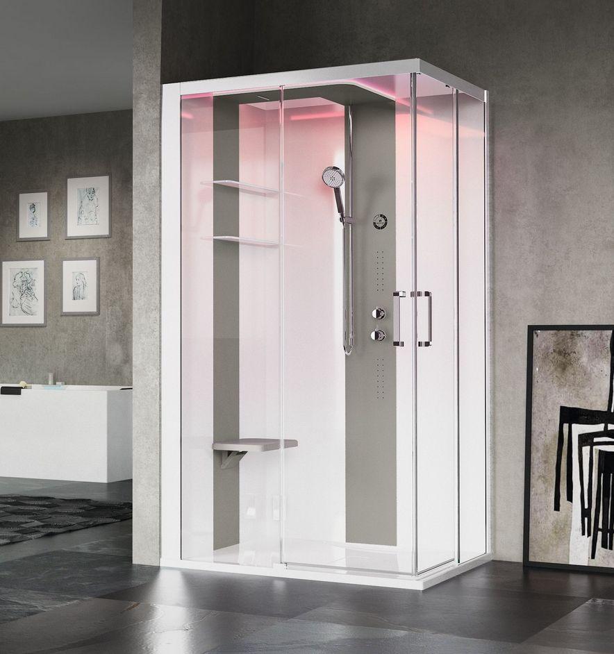 cabine de douche skill 120x90 cm