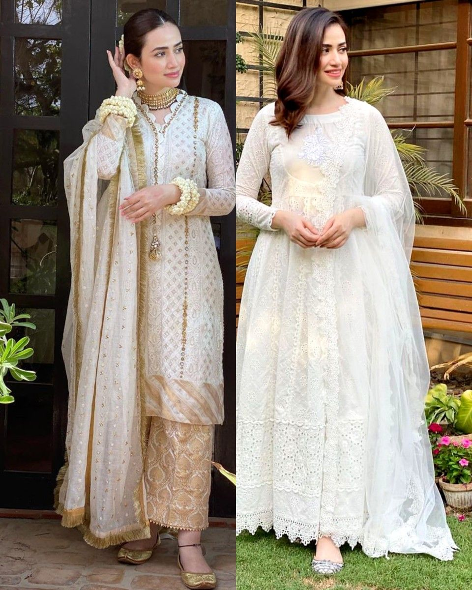 Guriya What Would You Wear White Shalwar Kameez Or White Frock In 2020 Wedding Dresses Lace White Frock Wedding Dresses