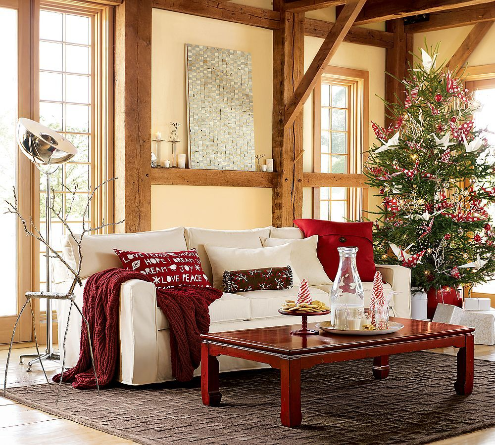 Pretty Christmas Things I Love Pottery Barn Vintage Farm Furniture It 39 S Christmas Time