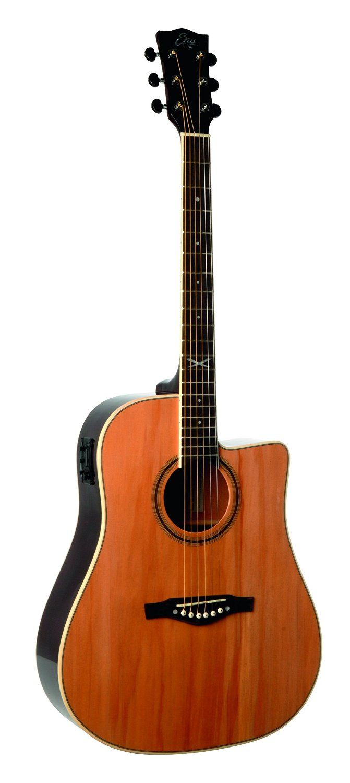 Eko Guitars 06217005 Nxt Series Dreadnought Cutaway Acoustic Electric Guitar Natural Acoustic Electric Guitar Acoustic Electric Guitar