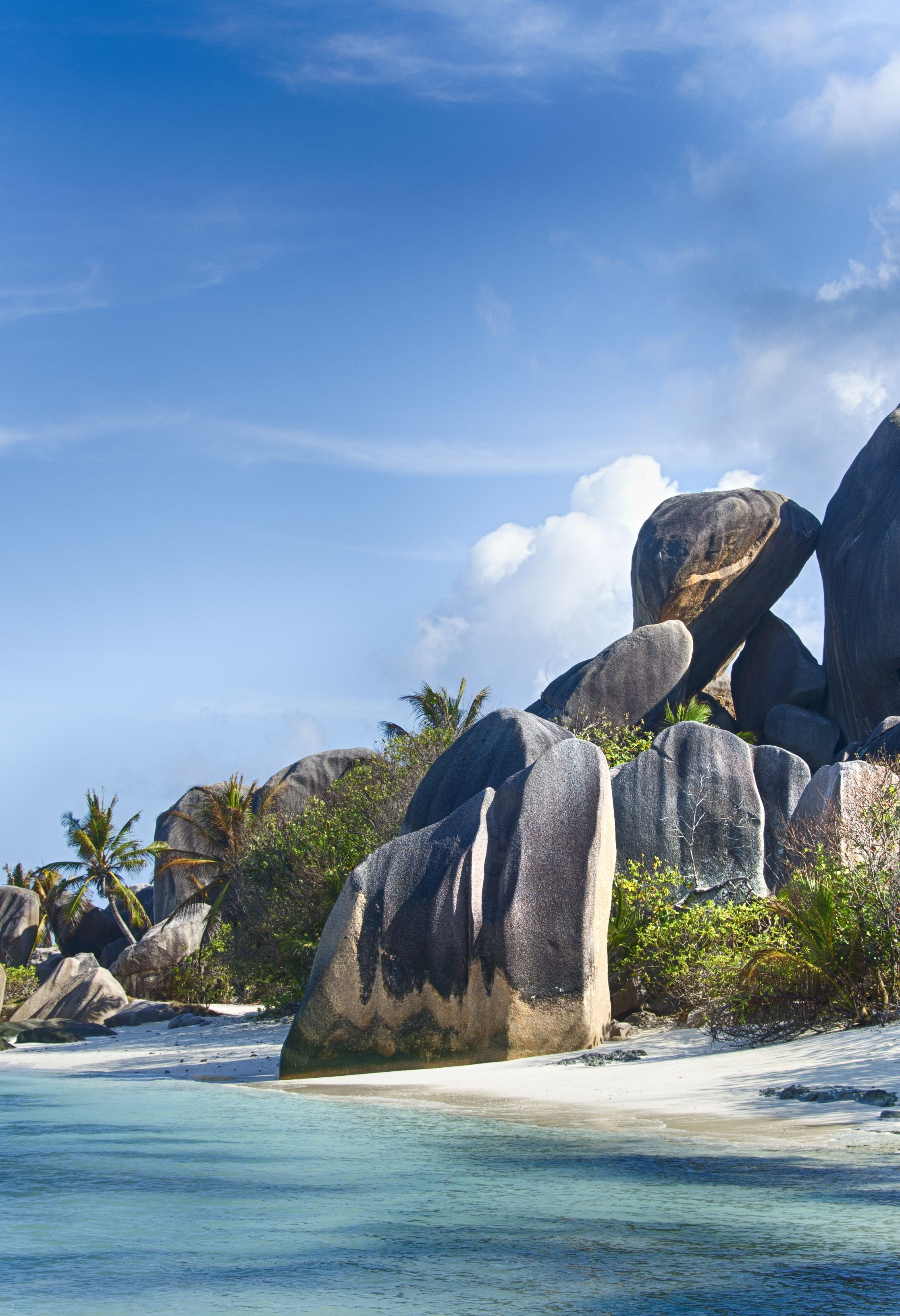 Anse Source D Argent Beach La Digue Seychelles