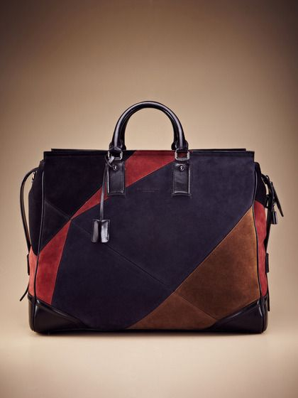 Bronson Panel Weekender by Burberry on Gilt.com