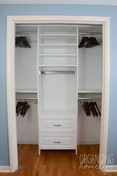 Small bedroom Closet - Master Bedroom Closet Organization ~ The Reveal & Surprise Announcement images