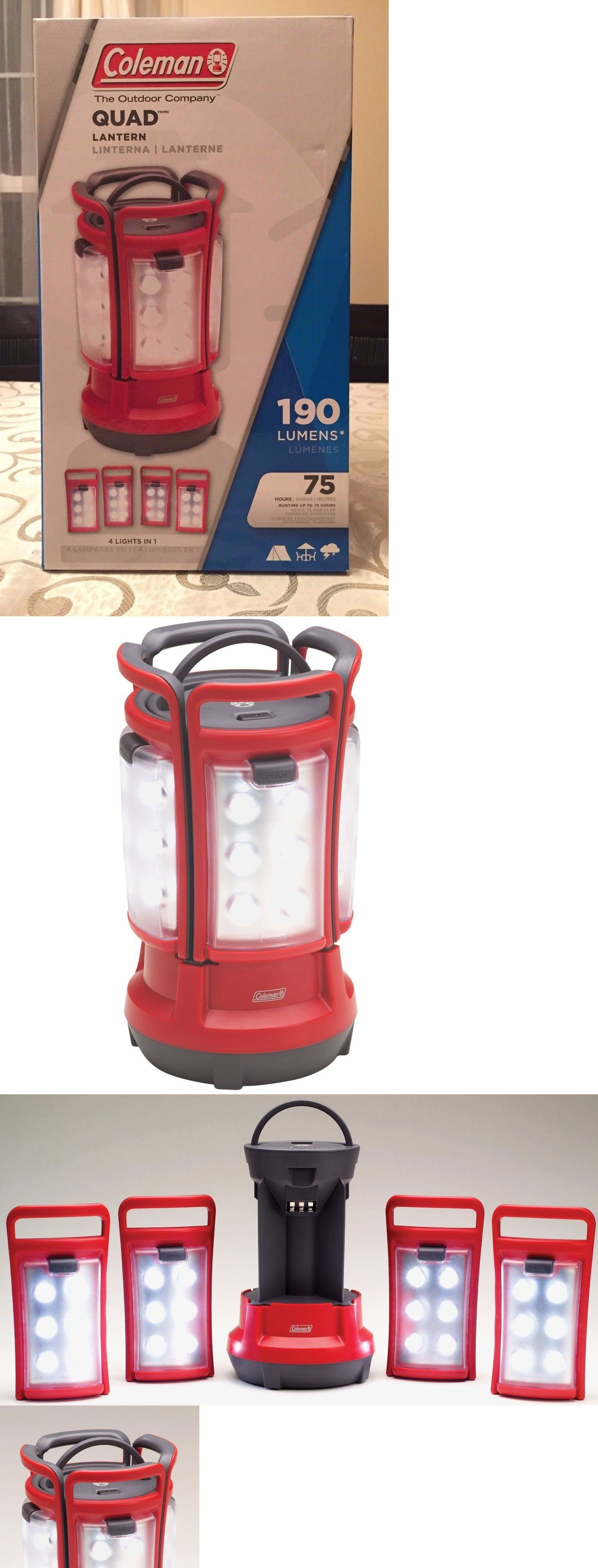 Lanterns 168867: Coleman Quad(Tm) Led Lantern New Present Gift Great For Camping -> BUY IT NOW ONLY: $64.28 on eBay!