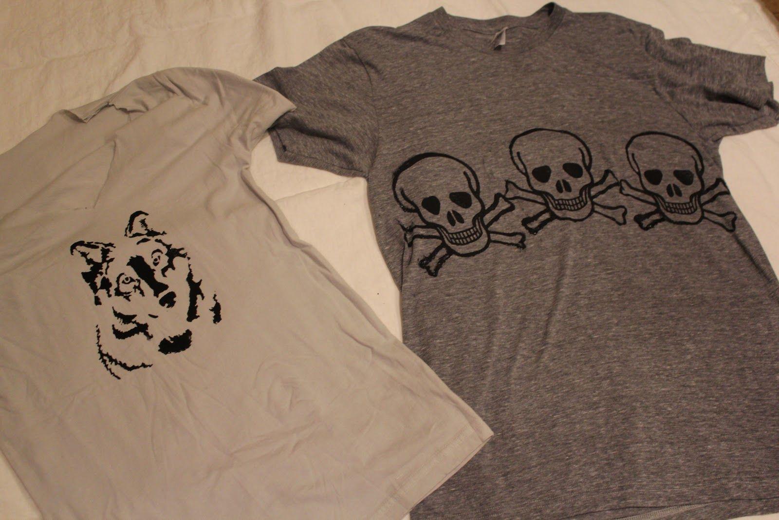one colour T-Shirt screenprinting