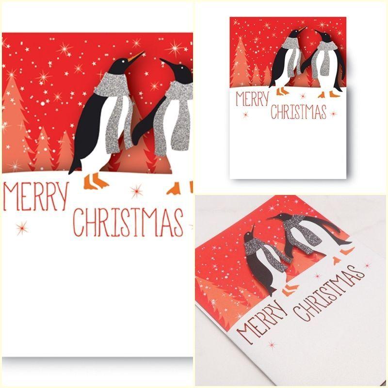 Premium Beautiful Handmade Design Laser Cut Sparkle Christmas Card ...