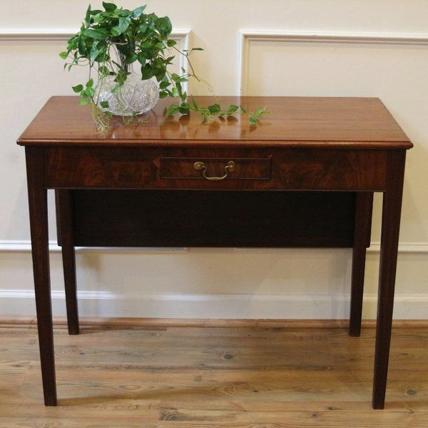 Antique Console Table Mahogany Drop Leaf C 1900 Streets Of London Antiques Antiqueconsole Antiquet Antique Console Table Hallway Furniture Console Table