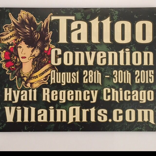 #stop by #dinosaurstudiotattoo #booth at #villainartstattooconvention and say hi to @killabunzz @calikid_lucy @sodamnfew and @nimzob. Check out what Chris will be doing. He is #representing us this weekend. You can find more info at villainarts.com. Or @villainarts. #covention #tattooconvention #tattoo #tat #tats #tattoos #customtattoo #navy #greatlakesnavalbase #greatlakesnavalstation #blackandgrey #color #portrait #waukeganillinois #lakecountyil #chicago #chicagotattooartist @cupycakesweetshop
