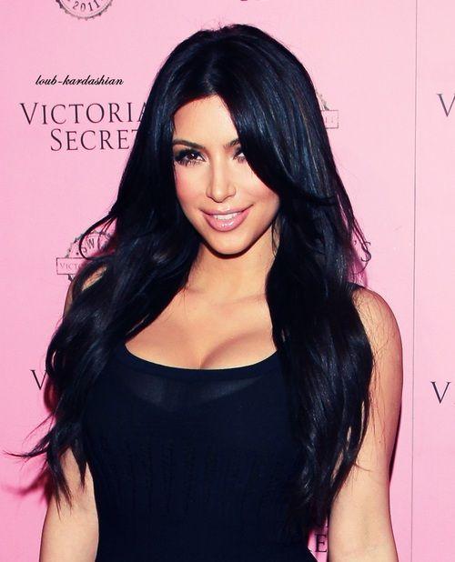 I Miss My Black Hair So Much Kim Kardashian Hair Kim Hair Long